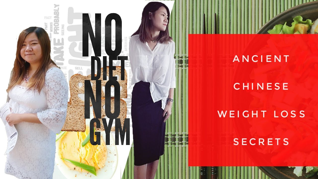 Traditional Chinese Diet For Weight Loss : Top Tips to Lose Weight Without Exercise (part1)