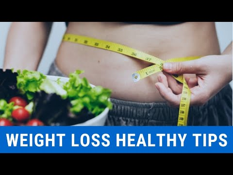 How To Loss Weight- 25 healthy tips