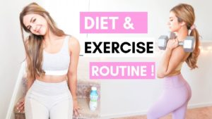 CHIT CHAT: MY DIET & EXERCISE ROUTINE for a healthy balance! | ASHLEY GAITA