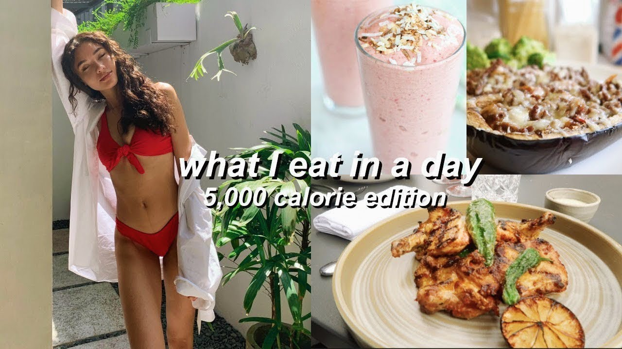 WHAT I EAT IN A DAY: 5,000 CALORIE EDITON | Sian Lilly