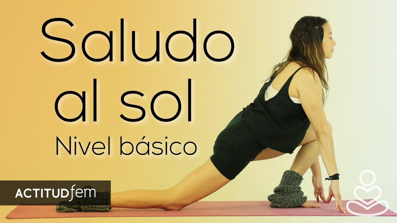 Yoga para principiantes: el saludo al sol, paso a paso    ActitudFEM