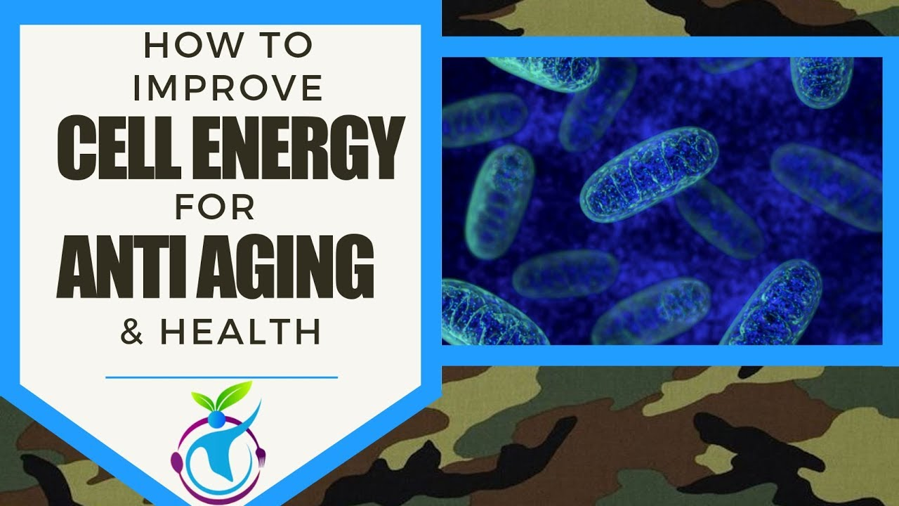 How to Improve Cellular Energy (Mitochondrial Function) for Anti Aging & Health